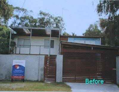 Home Renovations - Gold Coast - Before House Outside